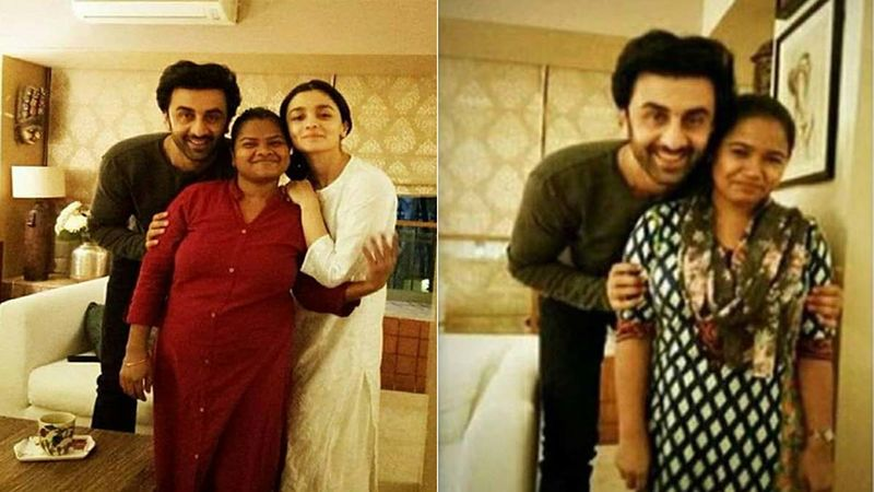 Ranbir Kapoor Poses With Alia Bhatt's Domestic Help In Viral Instagram Pic; Fans Are All Heart