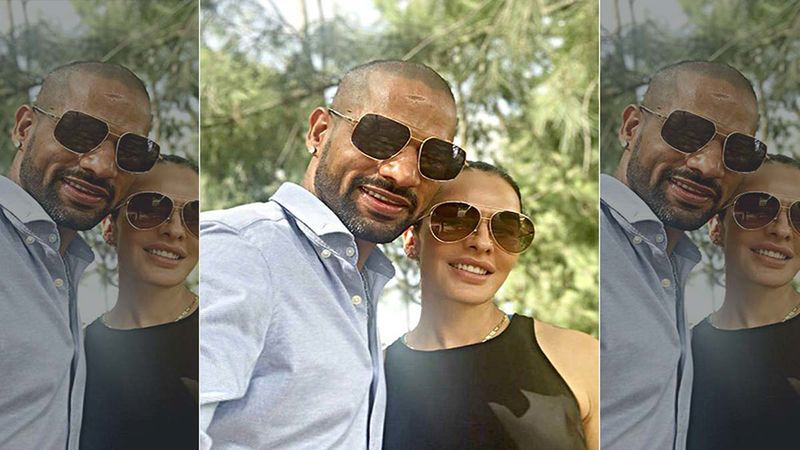 Shikhar Dhawan And Wife Aesha Recreate Jeetendra's Iconic Track, Dhal Gaya Din In Their Living Room - Nailed It