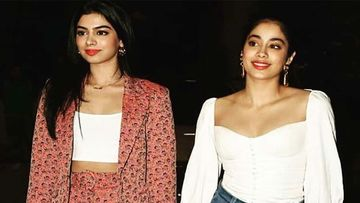 Khushi Kapoor Buries Herself In A Hoodie As Janhvi Kapoor Pesters Her Asking How 'POSITIVE' She's Feeling