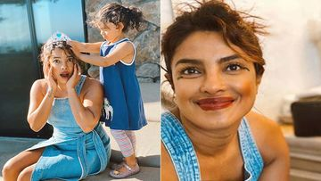 Priyanka Chopra's Little Niece Turns Her Into A Met Gala Princess With Befitting OTT Makeup