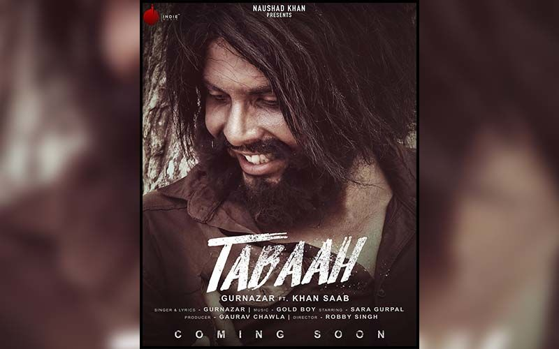 Singer Gurnazar Chattha's Next Song Tabaah Releasing On July 30