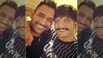 MS Dhoni Retires From International Cricket: Ranveer Singh Shares Pictures With Former Indian Skipper, Calls Him, 'Hero Fo'ever'