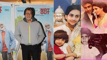 Amitabh Bachchan Shares Rare Pics Of Abhishek, Shweta, Navya, Agastya, Aaradhya; Says It Will Be A Virtual Raksha Bandhan Thanks To COVID