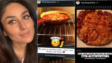 Kareena Kapoor Khan Bakes Herself A Deep Dish Pizza To Satisfy Pregnancy Craving; Boy, It Looks Lipsmacking