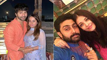 Karwa Chauth 2021: Varun Dhawan And Natasha Dalal's First Karwa Chauth Pictures Are AWW-Dorable; Abhishek Bachchan Surprises Wife Aishwarya Rai Bachchan On This Day