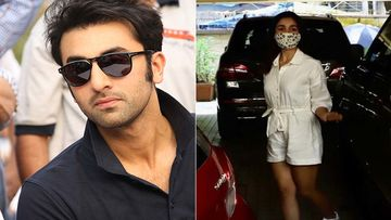 SPOTTED: Ranbir Kapoor's Closet In Alia Bhatt's Date Night Selfie; Fans Are Thrilled With This 'Find'