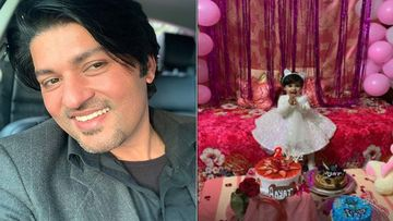 Diya Aur Baati Hum Actor Anas Rashid Shares An Adorable Video Of His Daughter Aayat's Second Birthday Celebration- WATCH