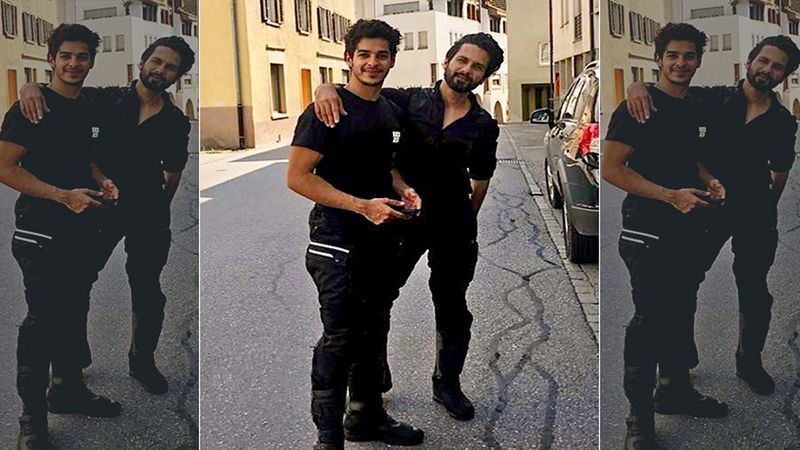 Happy Birthday Shahid Kapoor: Ishaan Khatter Shares An Unseen Picture With A Sweet Birthday Wish For His Bade Bhai