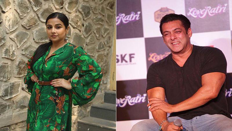 When Vidya Balan Teased Salman Khan About His Katrina Kaif Painting Resembling Her More; Watch Throwback Video Where Actress Asks, 'Woh Dirty Picture Toh Nahi Thi?'