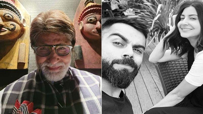 Amitabh Bachchan Cracks A Joke With A Hilarious Anushka Sharma-Virat Kohli Connect; Netizens Say Their Weekend Is Made