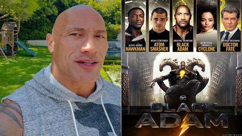 Goodness, 'The Rock' Dwayne Johnson Flaunts His Well Crafted Body As He Announces His Next 'Black Adam'