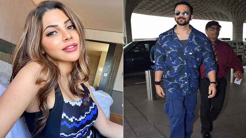 "Khatron Ke Khiladi 11: Nikki Tamboli Can't Stop Screaming As She Faces Her Fears; Host Rohit Shetty Calls Her ""Cheekhi Tamboli"""