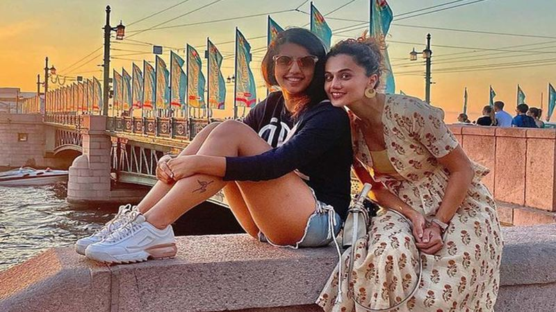 Taapsee Pannu's Holiday In Russia Comes To An End, Diva Says, 'Until Next Time DOSVIDANIYA'