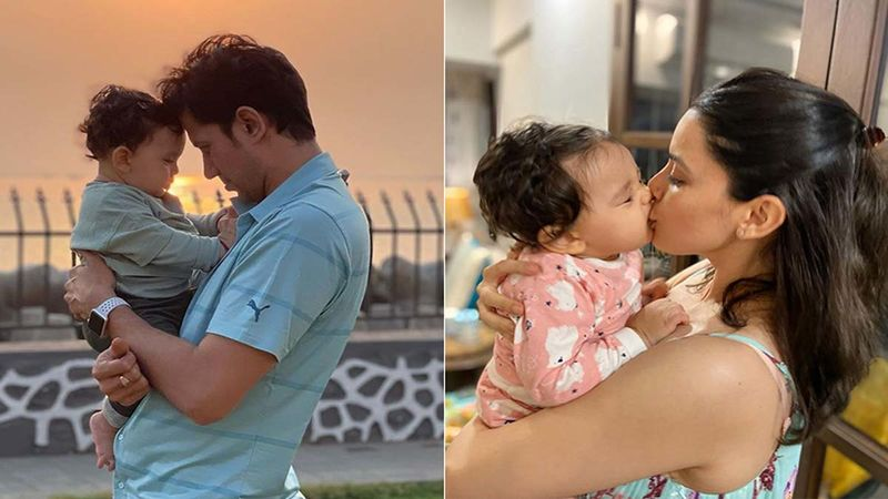 Sumeet Vyas-Ekta Kaul On Cloud Nine As Son Ved Vyas Turns One; Couple Drops Adorable Videos With The Little One