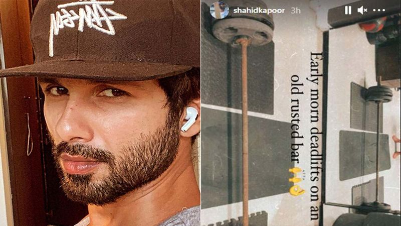 Shahid Kapoor Kickstarts His Friday On A Motivational Note, Does 'Early Morning Deadlifts On An Old Rusted Bar'