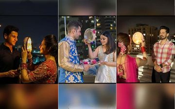 Karwa Chauth 2019: Divyanka Tripathi, Mahhi Vij, Rubina Dilaik And Others Celebrate With Much Enthusiasm - Picture And Videos Inside