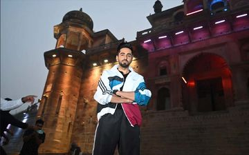 Bala Promotions: Ayushmann Khurrana Does Ganga Aarti In Varanasi, Has Jam Sessions With The Students