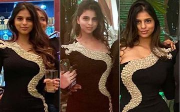 Cost Of Suhana Khan's NYE Little Black Dress Will Make Your Jaws Drop To The Ground Floor Of Your Building