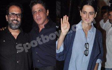 Shah Rukh, Kangana join Aanand L Rai's birthday bash