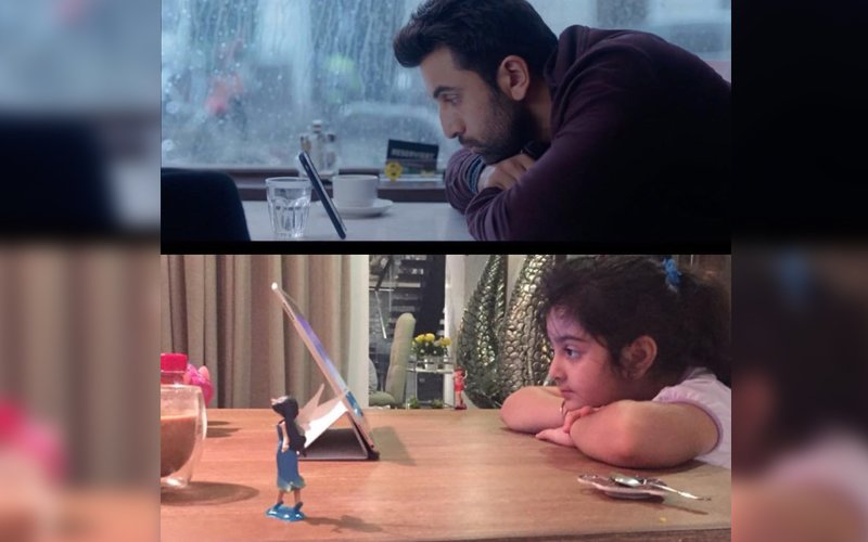 Ranbir's Niece Samara Copies His Ae Dil Hai Mushkil Act