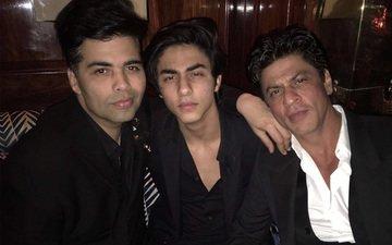 Check out SRK-Aryan celebrating KJo's birthday
