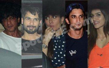 VIDEO: SRK, Shahid-Kareena, Sushant-Kriti party at Karan's pad!