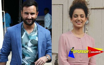 Saif vs Kangana in a Sword Fight in Rangoon