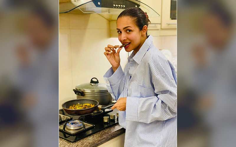 Malaika Arora Shares A Pic Of Her 'Cooking Something Exciting' In Pyjamas At Home; Tells Fans 'I Cannot Wait To Share It With You All'