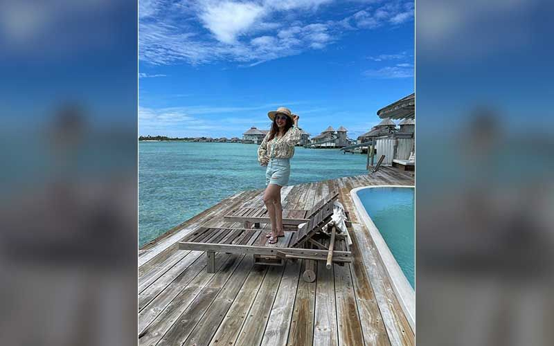 Madhuri Dixit Jets Off To The Maldives Amidst COVID-19 Outbreak On Sets Of Dance Deewane 3; Shares A Blissful Photo
