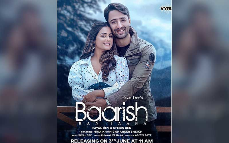Baarish Ban Jaana: Hina Khan And Shaheer Sheikh Unveil The First Look Of Their Upcoming Romantic Song; Music Video To Release In June