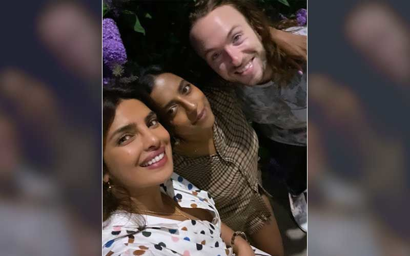 Priyanka Chopra Jonas Exudes Grace In A Flowy Polka Dot Dress; Poses For A Cute Selfie With Friends
