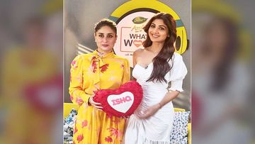 Kareena Kapoor Khan Welcomes Shilpa Shetty As A Guest On Her Radio Talk Show
