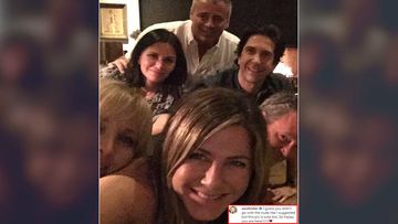 Jennifer Aniston Was Suggested To Post A Nude Picture Of Herself As The First Instagram Post; Thank God She Chose A FRIENDS Reunion Selfie