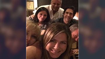Jennifer Aniston Joins Instagram With A Friends Reunion Selfie; Fans Advice Her To Upgrade Her Phone