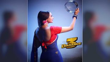 Dabangg 3: Sonakshi Sinha AKA Rajjo Pandey's Karwa Chauth 2019 Look Is Out; Wishes Fans In Dabangg Style