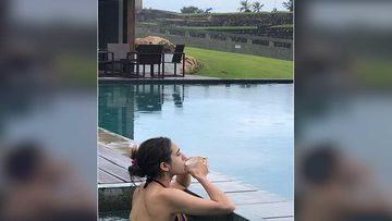 Sara Ali Khan Sizzles In A Bikini As She Shares Her 'Lady In Lanka' Pictures