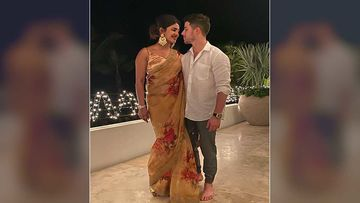 Diwali 2019: Priyanka Chopra Jonas Wishes Fans 'Happy Diwali' As She Stuns In A Saree With Hubby Nick Jonas
