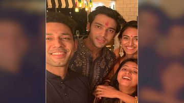 Diwali 2019: Kasautii Zindagi Kay 2 Actors Parth Samthaan, Erica Fernandes Pose For A Groupfie With Co-Stars