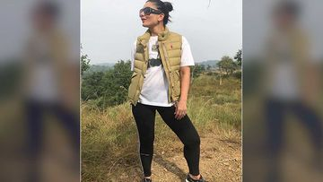 Kareena Kapoor Khan Takes A Break From Laal Singh Chaddha's Chandigarh Schedule Shivalik Mountain Range Trek - Pics Inside
