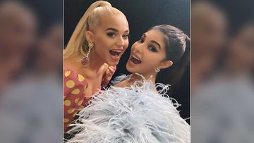 Katy Perry Gives A Special Hurrah To Her Girl Pal Jacqueline Fernandez As She Performs At A Concert