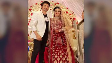 Gurmeet Choudhary Pays A Surprise Visit To A Fan At Her Wedding Reception Party In Mumbai