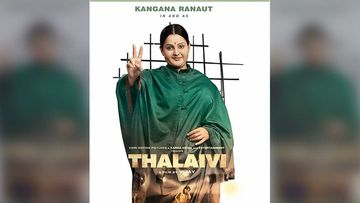 Thalaivi FIRST LOOK: Shape Shifter Kangana Ranaut Is Now Jayalalithaa And We Are Mighty Impressed - WATCH VIDEO