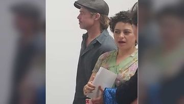 Amidst Dating Rumours Brad Pitt Spotted Hugging Alia Shawkat At Kanye West's Opera Night
