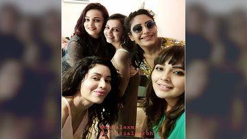 Ishqbaaaz Girls Surbhi Chandana, Shrenu Parikh, And Mansi Srivastava Have A Blast At Nehalaxmi Iyer's Birthday Bash