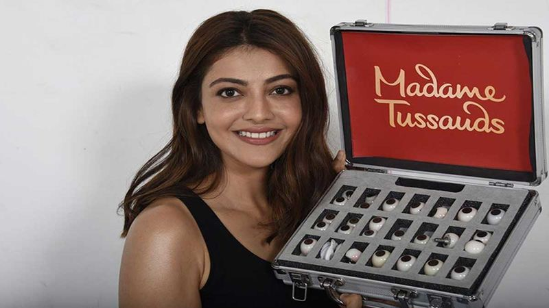 Kajal Aggarwal Becomes The 1st South Indian Actress To Get Waxed At Madame Tussauds, Actress Can't Keep Calm