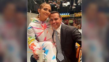 Jennifer Lopez Shares A Picture With Her 'Baby' Alex Rodriguez As She Sits On His Lap