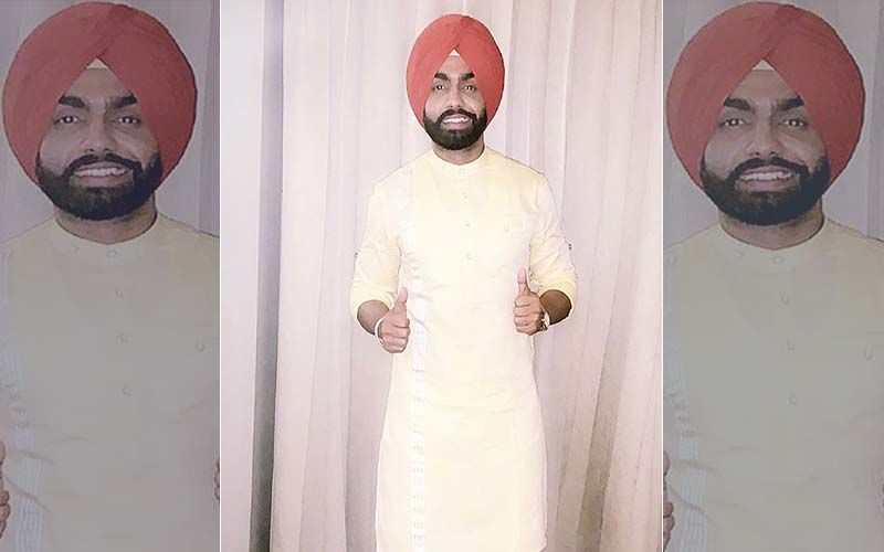 Ammy Virk Promotes Muklawa, Looks Handsome in his recent Insta Pic
