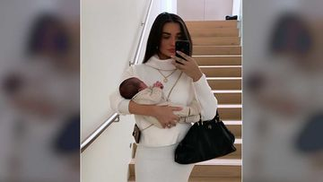 Amy Jackson Takes Her Son Andreas For His First Day  Out