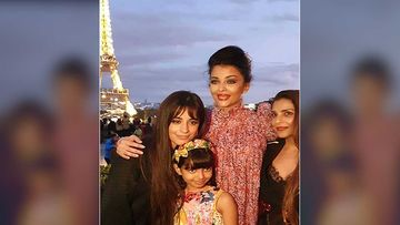 Aishwarya Rai Bachchan And Aaradhya Bachchan's Picture With Senorita Singer Camila Cabello Will Make You Green With Envy