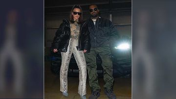 Kim Kardashian Shares A Perfect Picture Of 'KimYe' For Fans; Poses With Hubby Kanye West